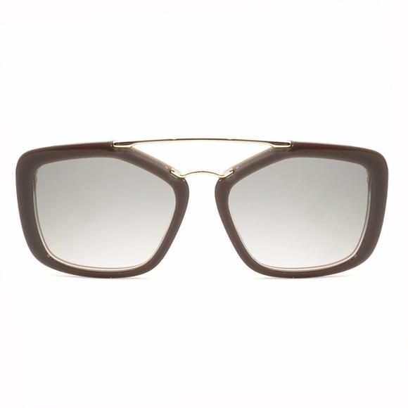 3e461eba1fc3 PRADA Sunglasses Opal Brown Beige Frame SPR24RS